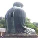 Giant Kamakura Buddha is 7.5 centuries old and has windows on his back.